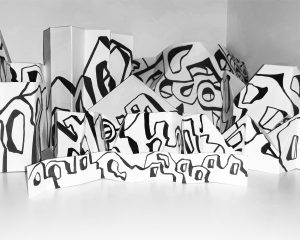 abstract depicting gatherings where distancing was not observed